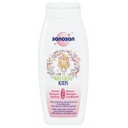 Sanosan Natural Kids 3in1 Shower & Conditioner Girls 250ml