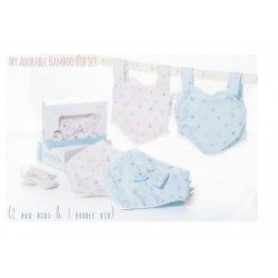 My Adorable Bib Set - Pink