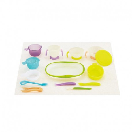 Combi BL Baby Tableware combo set