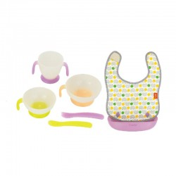 Combi Easy-clean Handy Apron and Tableware Set