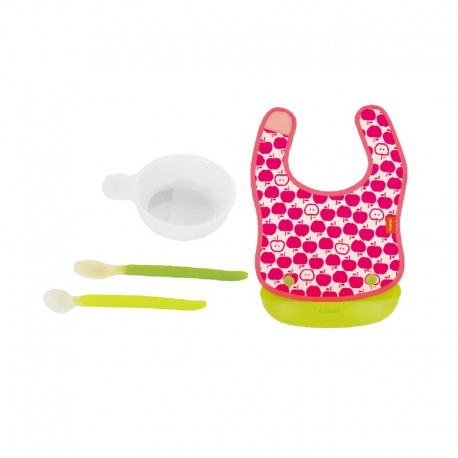 Combi Easy Clean Handy Apron & First Meal Set