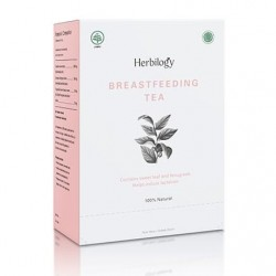 Herbilogy Breastfeeding Tea for Breastmilk Booster
