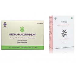 Mega Malunggay & Herbilogy Breastfeeding Tea Bundle