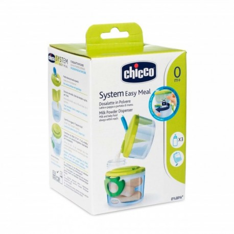 CHICCO MILK POWDER DISPENSER EASY MEAL 0M+