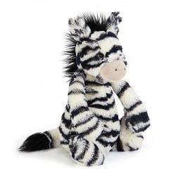 JELLYCAT MASHFUL ZEBRA - MEDIUM