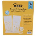 Baby Moby Breastmilk Storage Bags - 40pcs