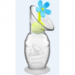 Haakaa 100ml Pump w/ Flower Stopper Set