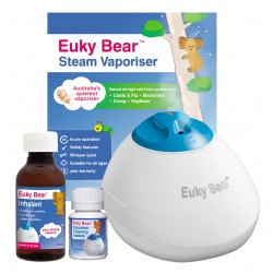 Euky Bear Steam Vaporiser w/ Steam Inhalant