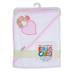 Eric Carle Baby's The Very Hungry Caterpillar Terry Cotton Hooded Towel