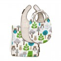 DwellStudio Bib/Burp Set