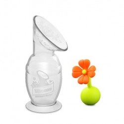 Haakaa 150ml Pump w/ Flower Stopper Set