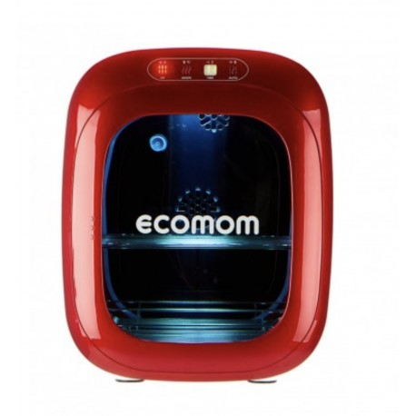 ECOMOM 100 UV Sterilizer and Dryer with Anion - Red