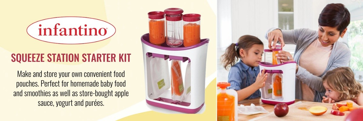 Infantino Squeeze Station Starter Kit