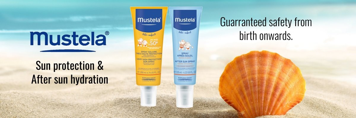 Mustela Sun Protection and After Sun Spray